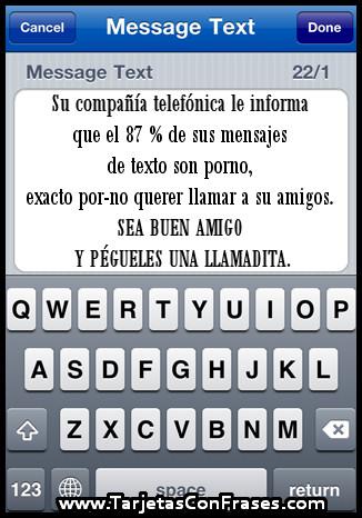 Tarjeta Con Frase 0006